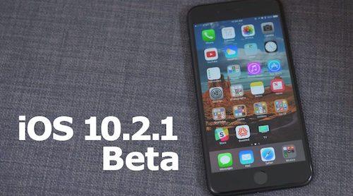 Vừa tung iOS 10.2 chính thức, Apple đã phát hành iOS 10.2.1 Beta - 1