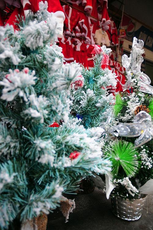 Đồ trang trí Noel giá bạc triệu hút khách ở Hà Nội - 1