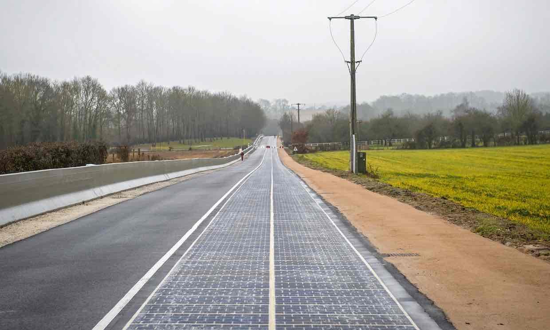 Đường phủ pin năng lượng mặt trời đầu tiên thế giới - 1