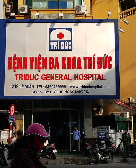 HN: Hai bệnh nhân tử vong sau khi gây mê ở bệnh viện Trí Đức - 1