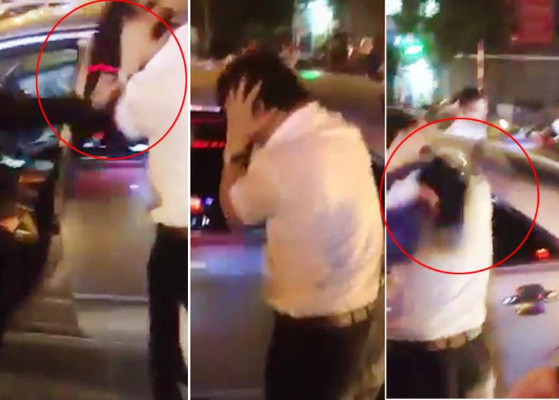 Tài xế xe Camry bị đánh túi bụi vì gây tai nạn rồi bỏ chạy - 1