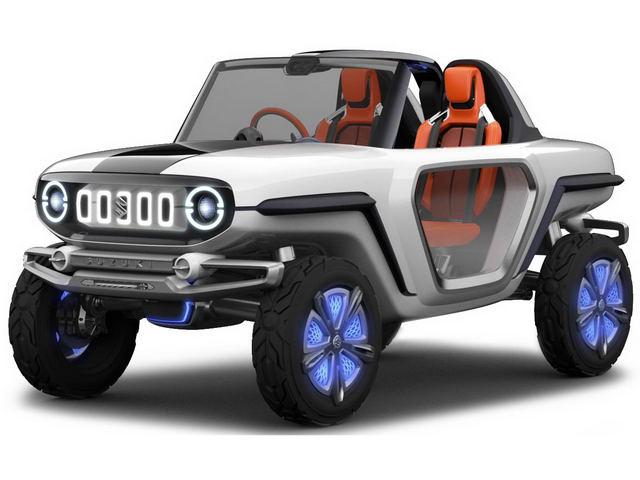 Suzuki e-Survivor lộ diện, sẽ ra mắt ở Tokyo Motor Show 2017 - 1