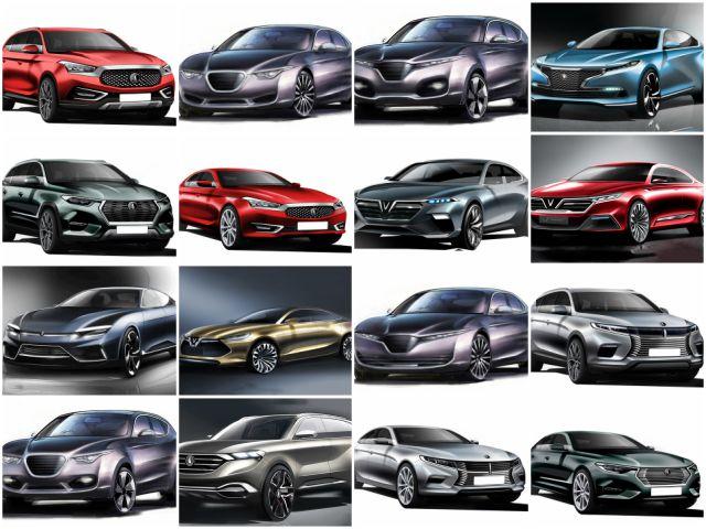Chiêm ngưỡng 20 mẫu xe concept của VinFast - 1