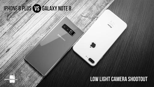 iPhone 8 Plus so tài chụp ảnh với Galaxy Note 8: Vương miện thuộc về ai? - 1