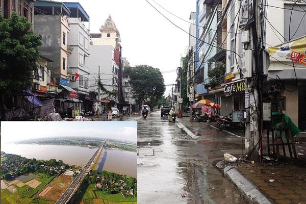 Giá đất Hà Nội tăng quanh 4 dự án cầu tỷ đô - 1