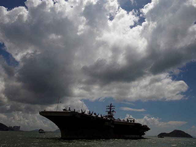 Siêu tàu sân bay, tàu ngầm hạt nhân Mỹ tới bán đảo Triều Tiên