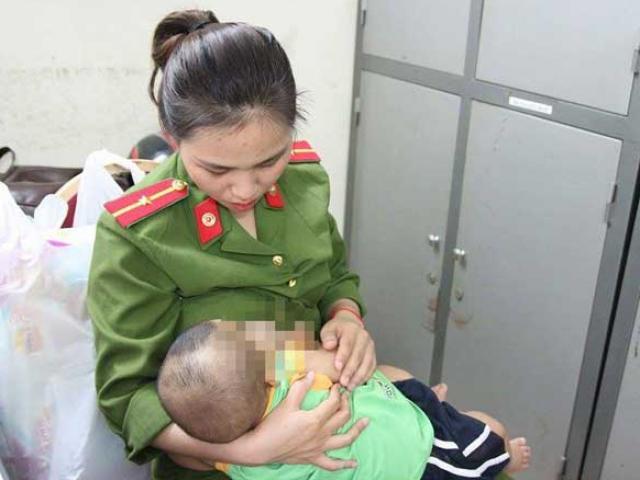 Tiết lộ mới về việc bé trai bị bỏ rơi được nữ cảnh sát cho bú