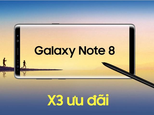 Người dùng ngỡ ngàng trước mức giá thấp kỷ lục của Galaxy Note 8