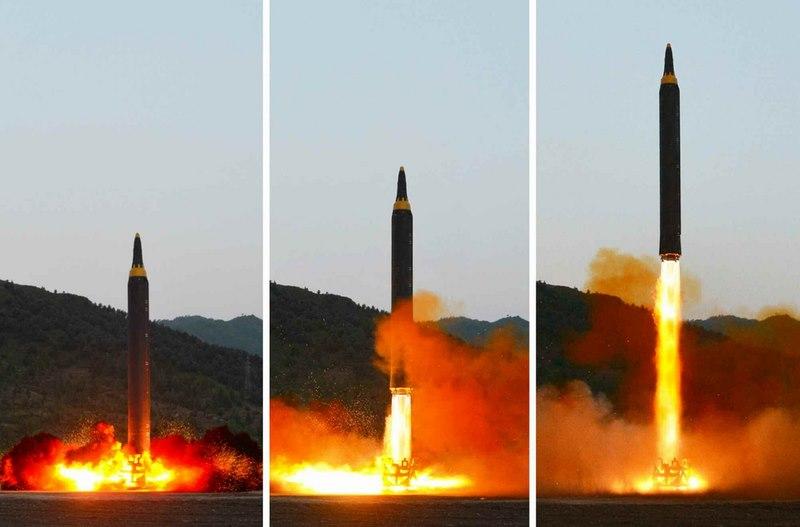 Triều Tiên lại doạ bắn loạt tên lửa vào đảo Guam - 1