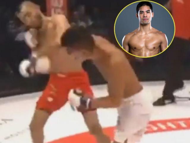"""Vang dội MMA: Võ sỹ gốc Việt 1 đấm hạ """"Người ngoài hành tinh"""""""