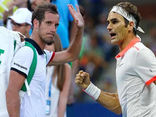 Federer - Gasquet: Tung đòn đỉnh cao, đối thủ khóc thét (TK Thượng Hải Masters)