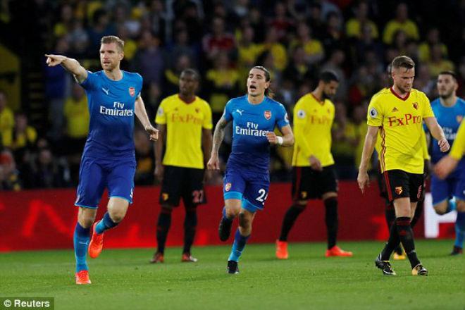 Watford - Arsenal: Ác mộng phút bù giờ (vòng 8 ngoại hạng Anh) - 1