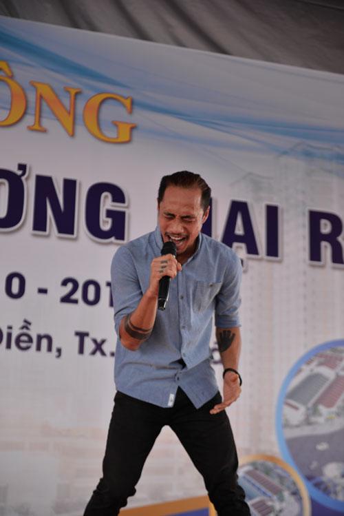 Phạm Anh Khoa, Hoàng Yến Chibi khuấy động lễ khởi công Khu thương mại Rạch Bắp – An Điền - 1