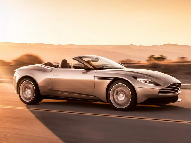 Aston Martin DB11 Volante giá 5 tỷ đồng ra mắt - 1