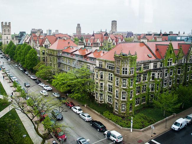 1. Đại học Chicago, Illinois