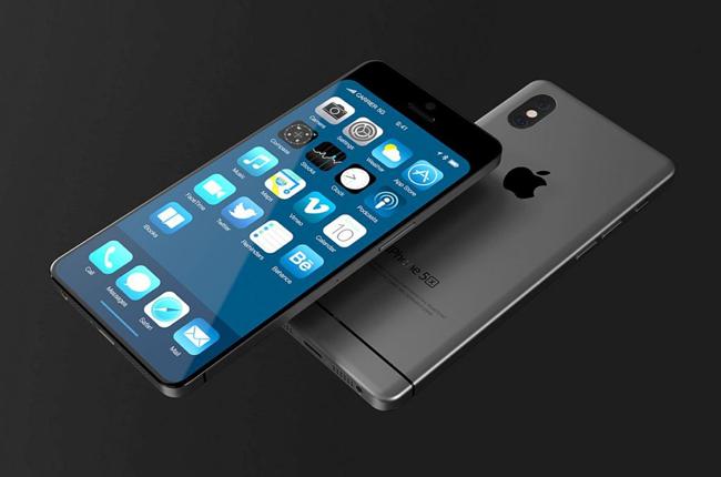 """Rất nhiều những mẫu iPhone concept đã được các nhà thiết kế tung ra, nhưng đây là lần đầu tiên một phiên bản khái niệm của iPhone 5X xuất hiện trong """"từ điển"""" iPhone kèm thiết kế siêu đẹp."""