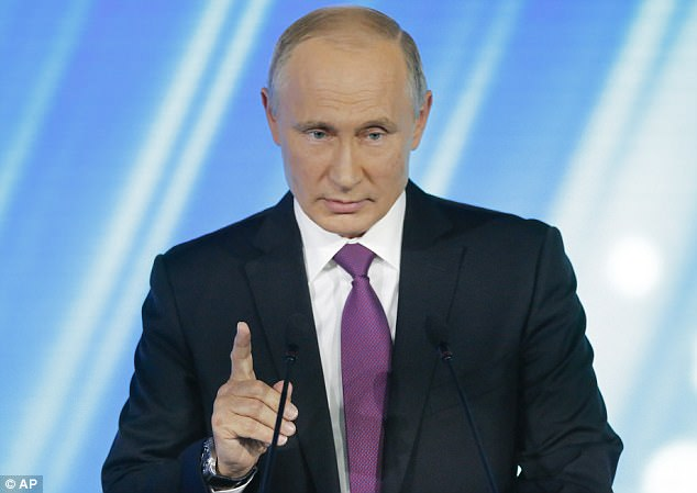 """Tuyên bố của ông Putin khiến Mỹ """"lạnh gáy"""" - 1"""