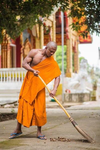 """Nhà sư cơ bắp cuồn cuộn """"đô"""" nhất Thái Lan từ đâu ra? - 1"""