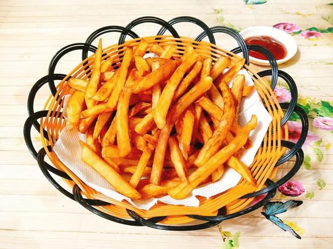 Kết quả hình ảnh cho khoai tây chiên ngon