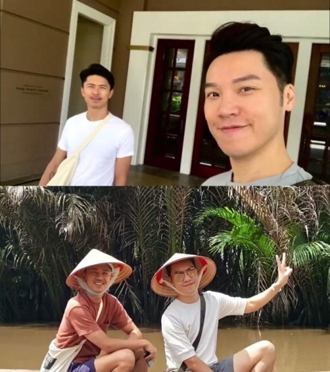 Tài tử TVB đón sinh nhật ở Việt Nam cùng người tình đồng giới - 1