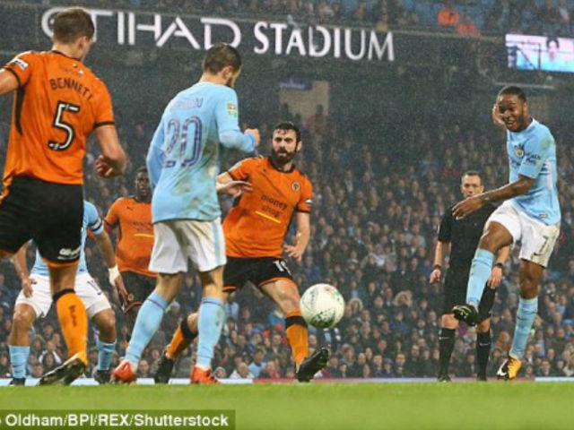 Video, kết quả bóng đá Man City - Wolves: Kịch bản điên rồ màn đấu súng (vòng 4 League Cup)