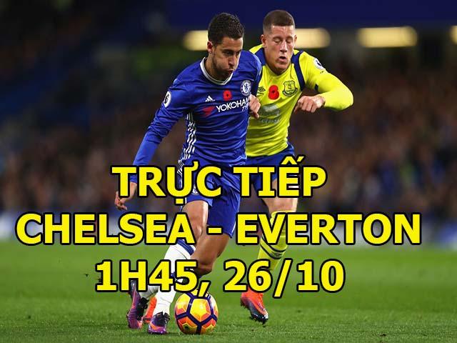 TRỰC TIẾP Chelsea - Everton: Siêu kích tính phút bù giờ (KT)