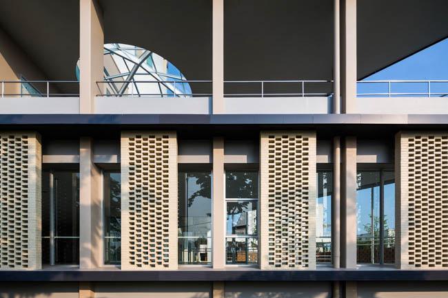Kiến trúc độc đáo của trường Đại học Nhật Bản tại Việt Nam được ca ngợi - 3