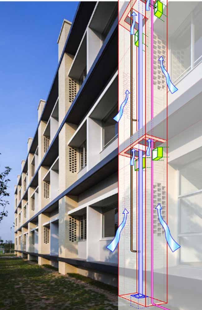 Kiến trúc độc đáo của trường Đại học Nhật Bản tại Việt Nam được ca ngợi - 9