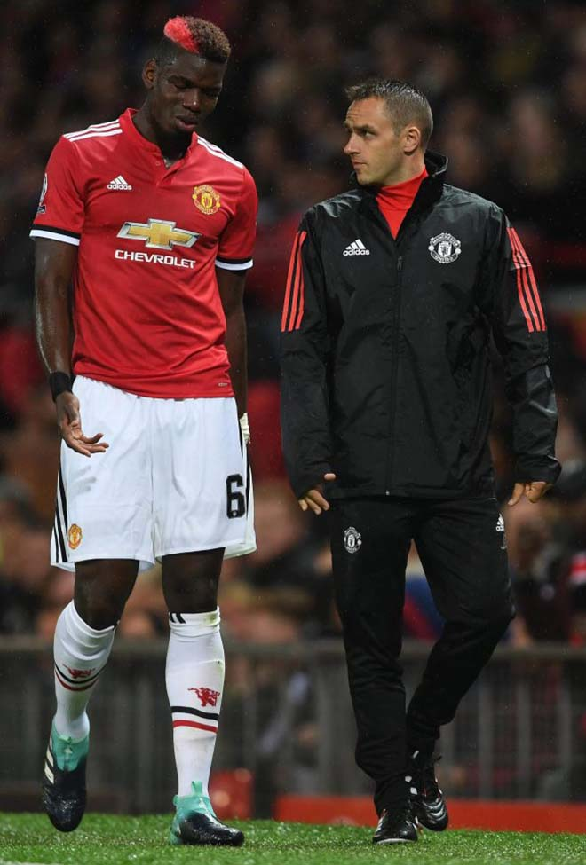 MU - Mourinho: Giữa bão chấn thương, đón tin vui từ Pogba - 1