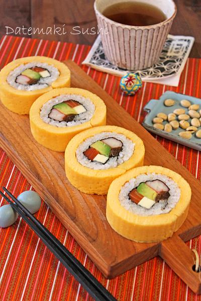 Biến tấu lạ miệng với sushi trứng cuộn ngon miễn bàn - 1