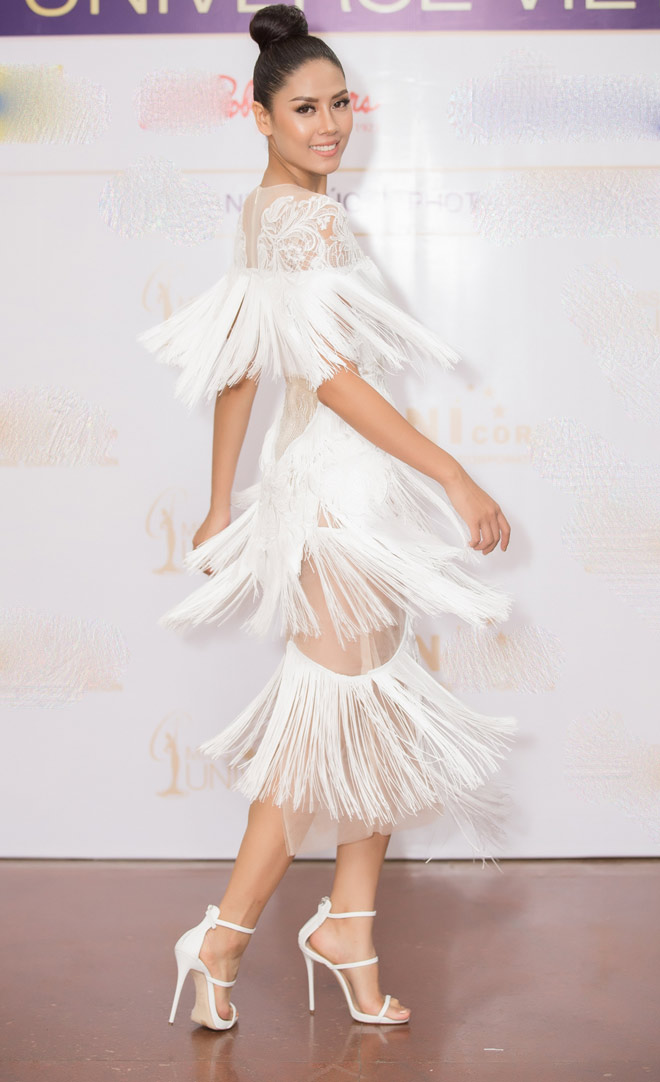 Nguyễn Thị Loan chính thức được thi Hoa hậu Hoàn vũ - 1