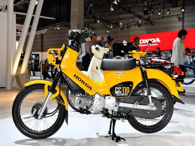 Mê mẩn Honda Cross Cub 110 mới giá 56,8 triệu đồng