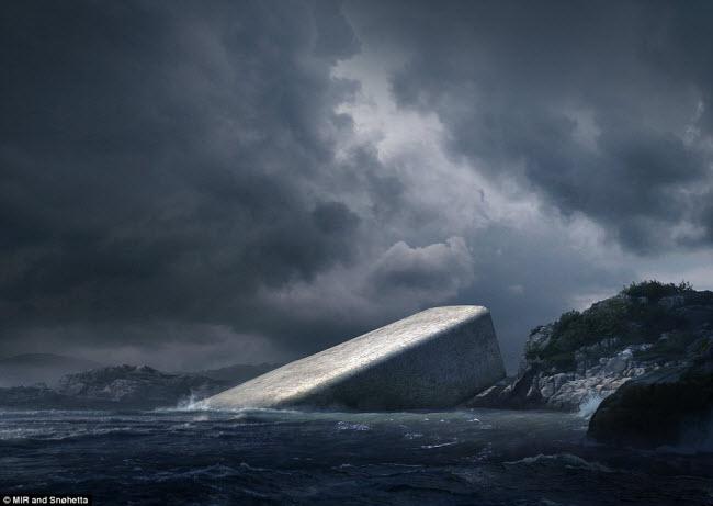 Khám phá nhà hàng dưới nước đầu tiên ở châu Âu - 1