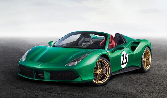 "Ferrari 488 Spider ""Green Jewel"" giá gần 30 tỷ đồng - 1"