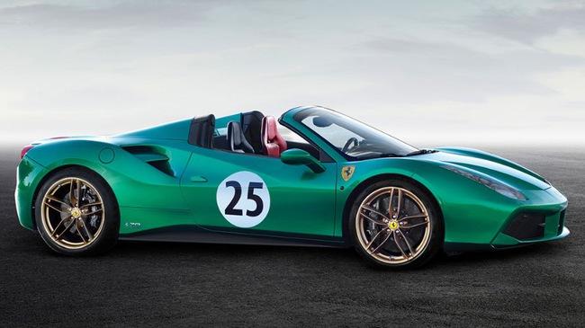 "Ferrari 488 Spider ""Green Jewel"" giá gần 30 tỷ đồng - 3"