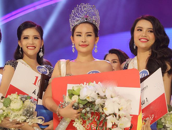 Dân mạng bàn cãi um xùm về nhan sắc Hoa hậu Đại dương - 1