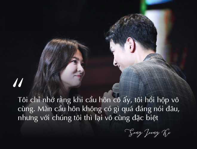 Những câu nói không thể ngôn tình hơn của cặp đôi Song - Song - 1