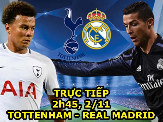 TRỰC TIẾP bóng đá Tottenham - Real Madrid: Kane là người kế tục Ronaldo