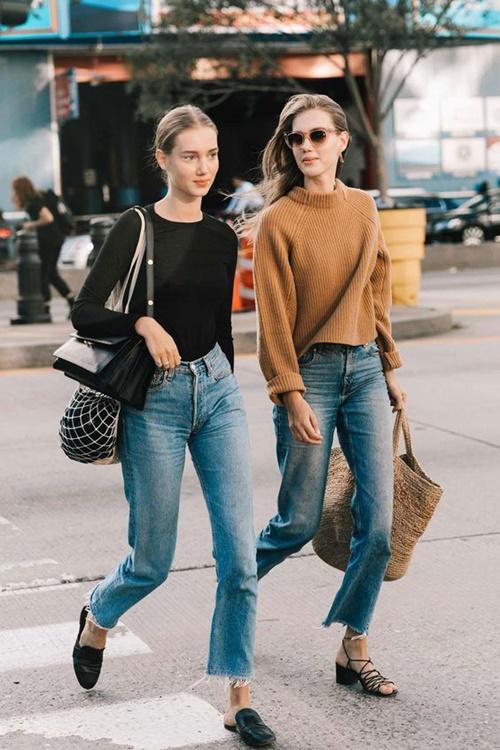 6 chiếc quần jeans không dành cho nàng yếu bóng vía! - 1