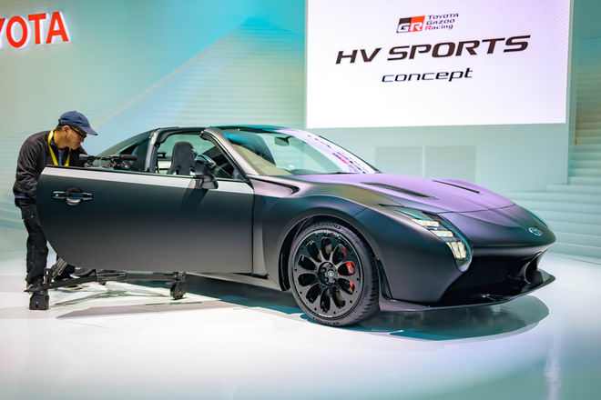 Toyota GR HV Sports: Xe 2 cửa mui trần đặc sắc - 2