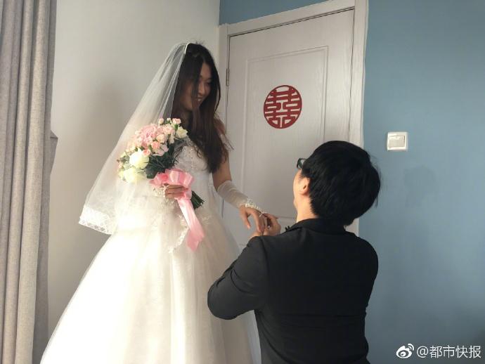 Cặp đôi tổ chức đám cưới siêu tiết kiệm chỉ với 7 triệu đồng - 1