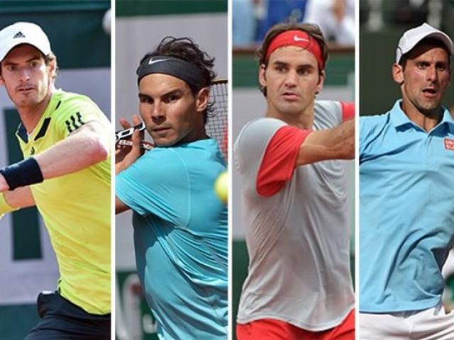 Bảng xếp hạng tennis 6/11: Nadal-Federer chễm chệ ngôi cao, Djokovic rớt top 10