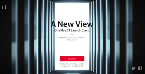Chính thức: OnePlus 5T sẽ được công bố vào ngày 16/11 tới - 1