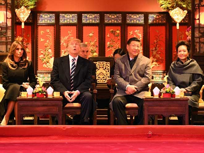 """Chiến thuật trải thảm đỏ """"quyến rũ"""" ông Trump của Trung Quốc - 1"""