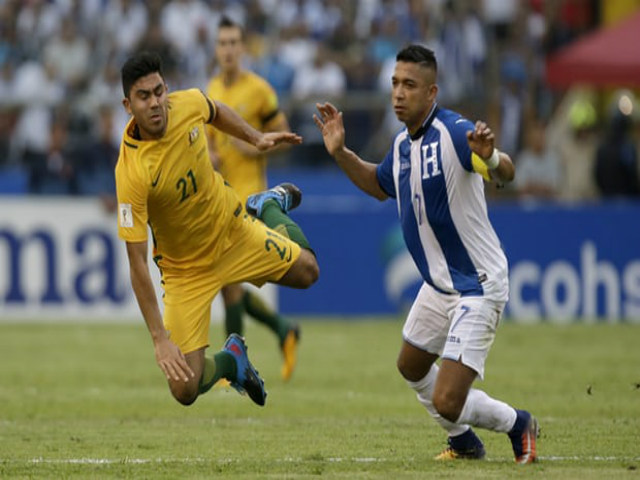 """Honduras - Australia: Siêu căng thẳng, """"người nhện"""" hóa thánh (play-off World Cup 2018)"""