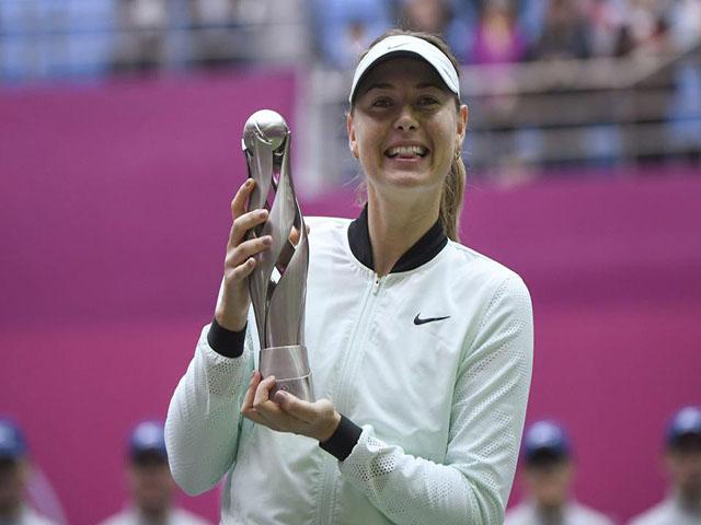 Ngỡ ngàng: Kiều nữ tennis Sharapova toan giải nghệ