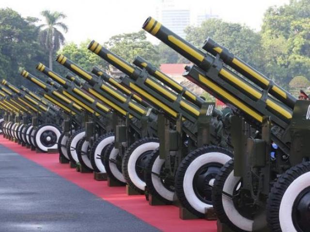 TRỰC TIẾP: Bắn 21 phát đại bác đón chào Chủ tịch Trung Quốc Tập Cận Bình