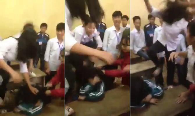 Tiết lộ nguyên nhân nữ sinh lớp 10 bị đánh hội đồng dã man gây xôn xao - 1