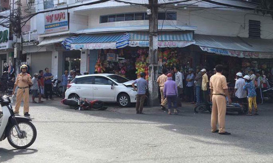 Tình tiết mới vụ ô tô vi phạm bị giữ vẫn chạy ra ngoài gây tai nạn - 1