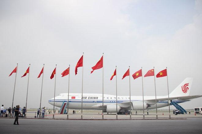 Toàn cảnh: Chủ tịch Tập Cận Bình lên máy bay rời Hà Nội - 1